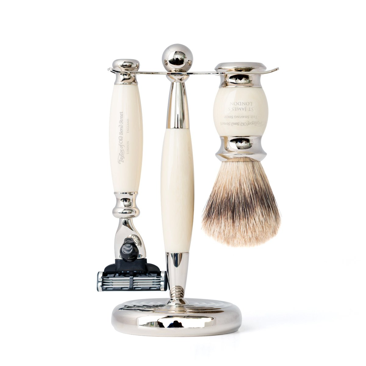Super Mach3 Edwardian Shaving Set