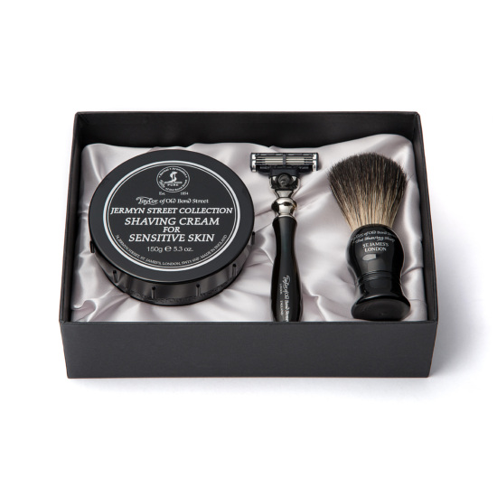 Jermyn Street pure badger luxury starter set
