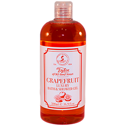 Grapefruit gel de dus