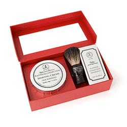 Platinum Brush, Bowl and Fragrance Set