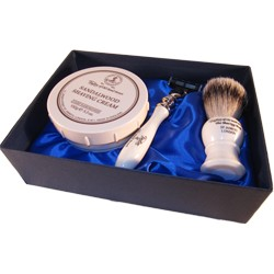 Sandalwood super badger luxury starter set